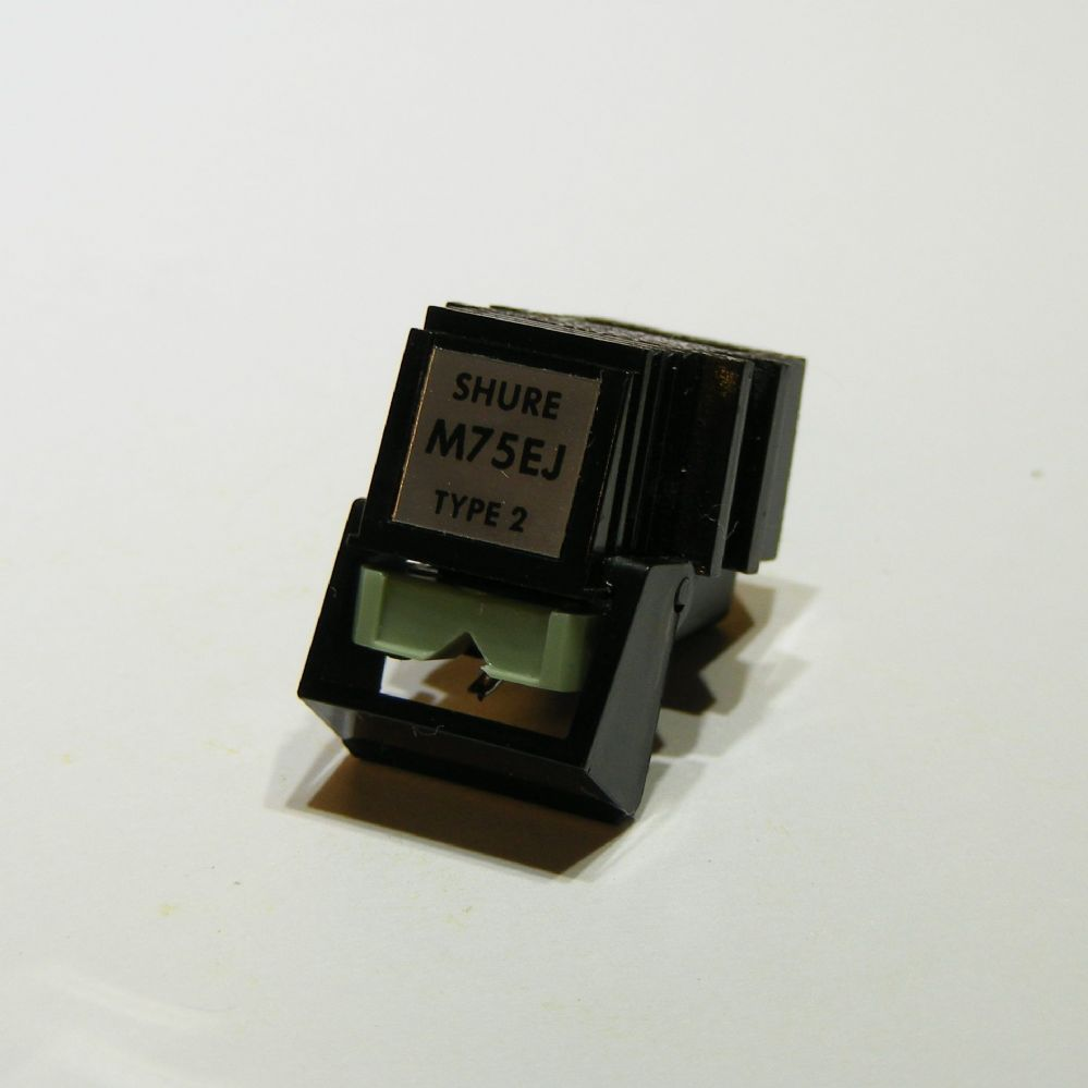 Shure  M75EJ  Cartridge fitted with  new  stylus